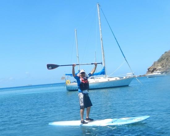 SUP St. John - Learn to Paddleboard in the USVI: chocolate hole