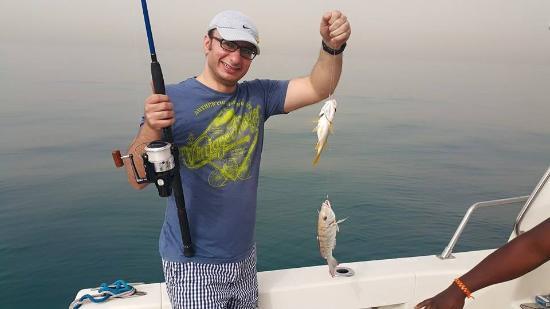 Fishing in dubai picture of amwaj al bahar boats and for Fishing in dubai