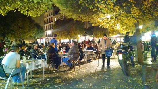 Plaza de San Ildefonso