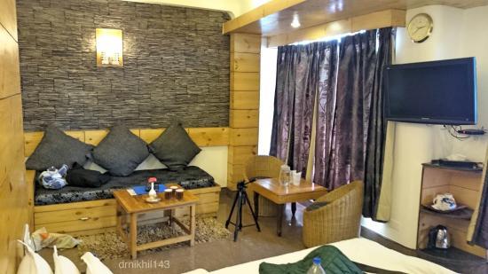 Kapil Hotel: sofa cum bed