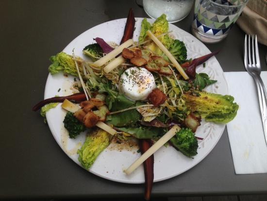 Le Barrio : Excellente salade!!