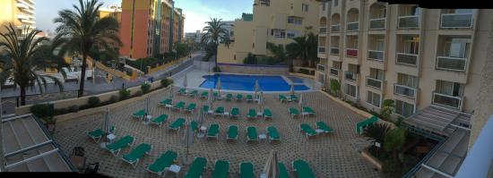 MS Aguamarina Suites : View from balcony