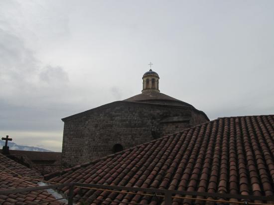 Santa Maria Hostal: vista da área comum