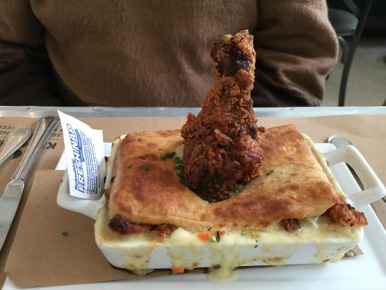 Fried chicken pot pie - Picture of Kitchen No. 324, Oklahoma City ...