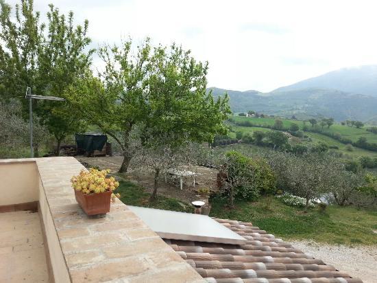 B&b Colle San Francesco : Il meraviglioso esterno del piccolo paradiso che ci siamo trovati davanti