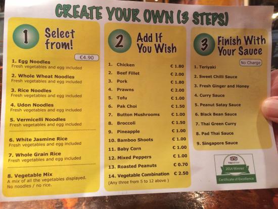 StirCrazy: Side 2 of menu