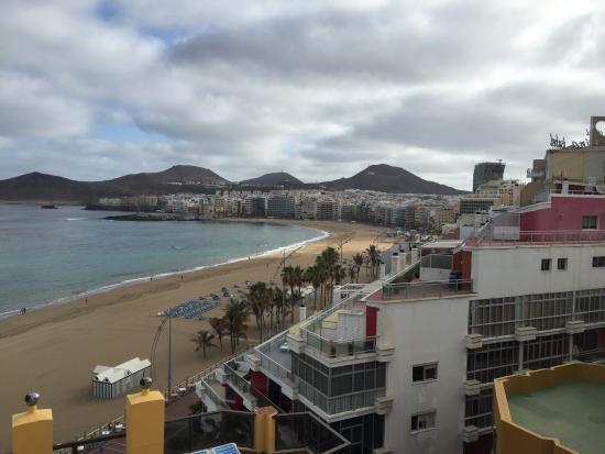 View From Rooftop Pool Bild Von Hotel Concorde Las Palmas