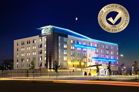 Aloft Vaughan Mills: Top Choice Winner 2015