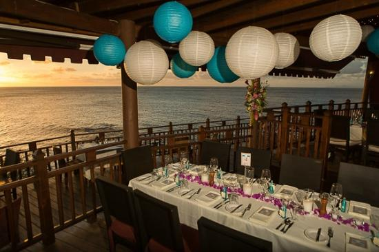 Cap Estate, St. Lucia: The Cliff Restaurant