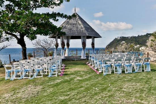Cap Estate, St. Lucia: Wedding Gazebo