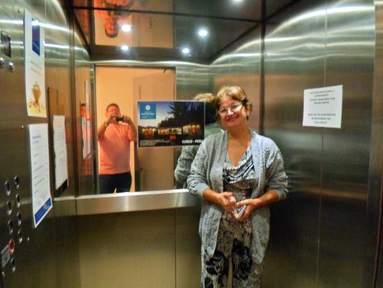 Ananay Hotel San Isidro: Elevador do Hotel