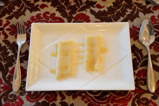 Shanti Morada: Perfect crepe at breakfast