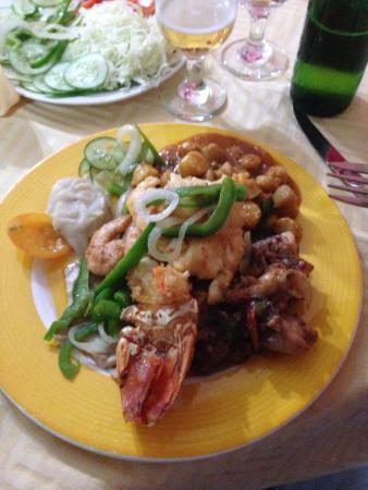 Holguin Province, Cuba: Seafood platter