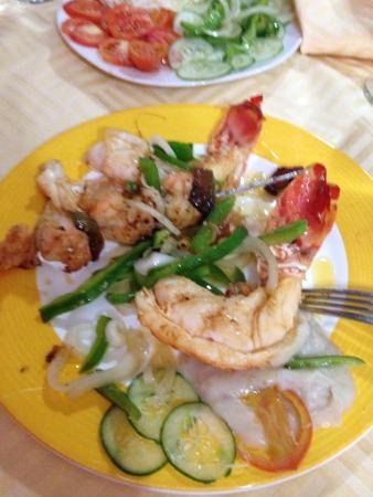 El Tulipan: Lobster dinner.