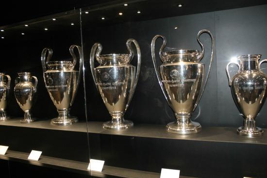 Museo Real Madrid.Museo Real Madrid Champions Photo De Stadio Santiago