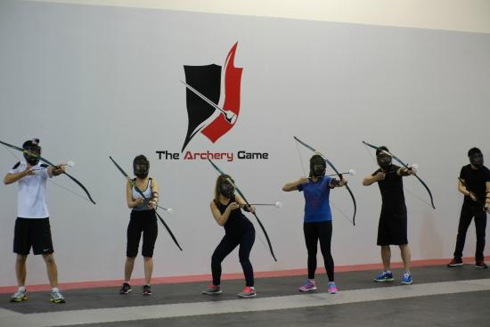 The Archery Game: Session photo