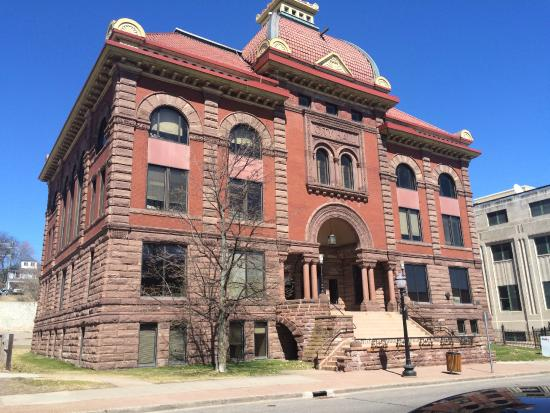 Beautiful buildings in downtown Marquette!