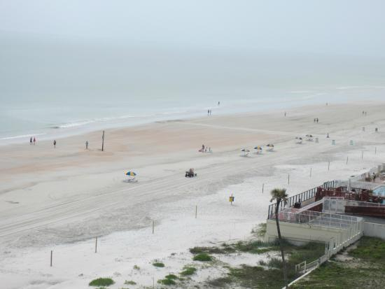 ausblick vom hotel picture of hyatt place daytona beach. Black Bedroom Furniture Sets. Home Design Ideas