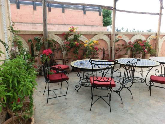 Hotel Salsabil: Segunda terraza