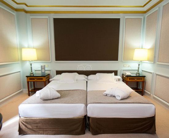 The Junior Suite at the Eurostars Hotel de la Reconquista