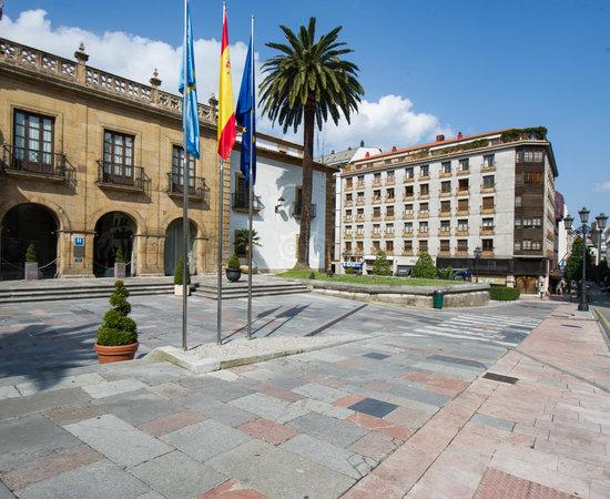 Street at the Eurostars Hotel de la Reconquista