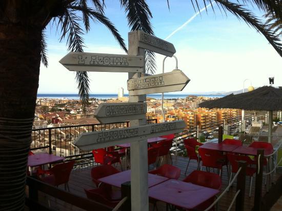 Hotel La Cumbre: Chiringuito / Swimmingpool bar