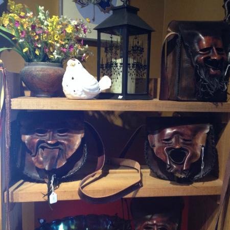 Historic Greenwood: Unique Leather Purses for Sale in the Tarnished Turkey