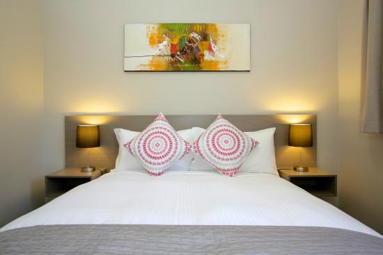 Beachpark Apartments Coffs Harbour: Queen Size Bed