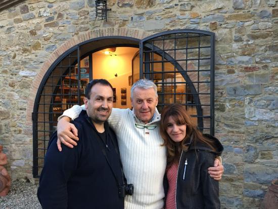 Sant'Agnese Farm : Silvano- What a guy!