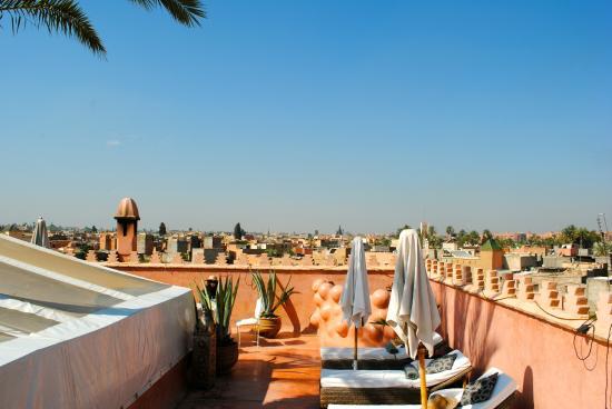 Zamzam Riad: rooftop