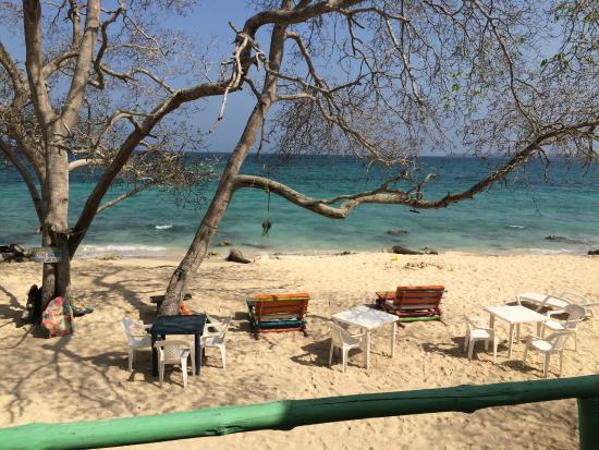 RestoBar Los Corales: Vista desde la cabaña