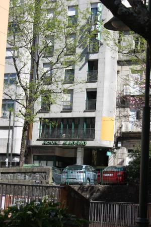Hotel Madrid : Fachada do Hotel