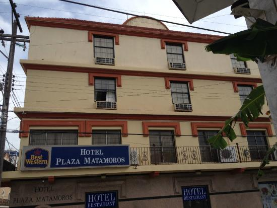 BEST WESTERN Hotel Plaza Matamoros: The hotel is a land mark at that area