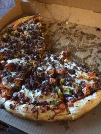 Mambo Gourmet Pizza : Voodoo delight.