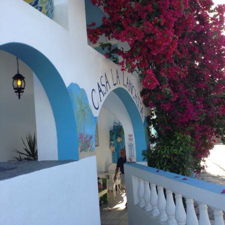 Casa La Lanchita: Welcoming entrance