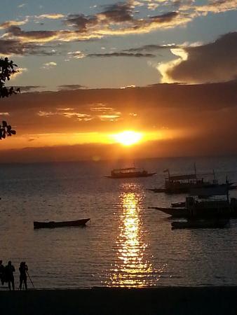 Divelink Cebu: Sunset view