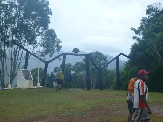 Kewarra Beach, Australia: Start of the kokoda track