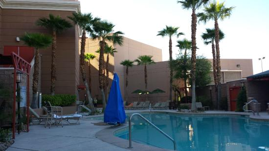 Pool looking towards the hotel entrance picture of sam 39 s - Hacienda interiors boulder city nv ...