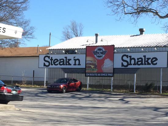 Steak N Shake Picture Of Steak N Shake Springfield Tripadvisor