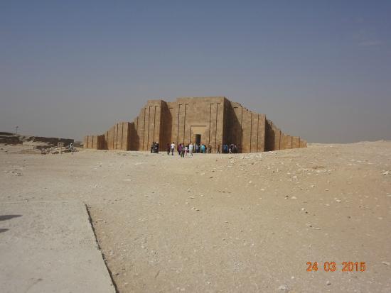Mastaba of Ti : Vista de longe