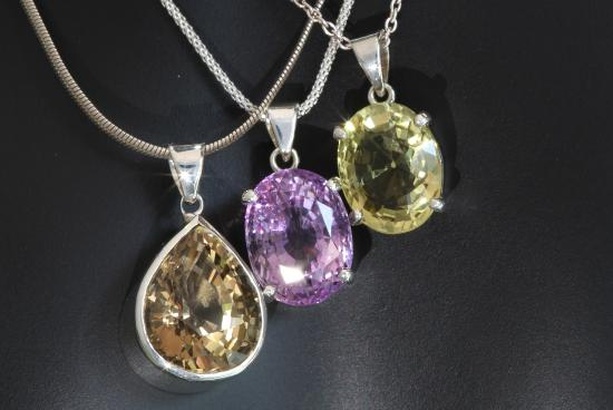 Natural gemstone pendants in sterling silver settings stones from dhindley natural gemstone pendants in sterling silver settings stones from cambodia aloadofball Gallery