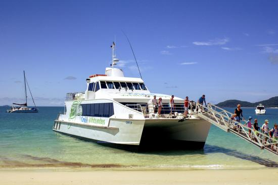 Cruise Whitsundays Whitehaven Beach Whitsunday Island