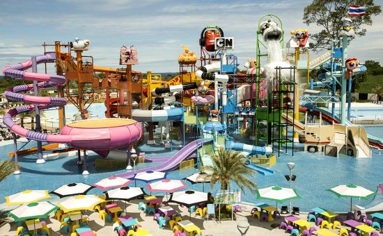 Jomtien Beach, Tailandia: It is the photo of water park. It very fun