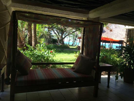 Baobab Beach Resort & Spa: zona de descanso y wifi gratis tienes muchos sillones para poder descansar con unas vistas preci