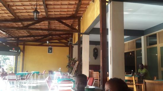 Hotel Ibis : Restaurant area
