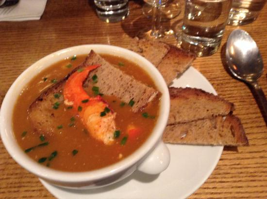 Louise Cafe: Lobster Bisque