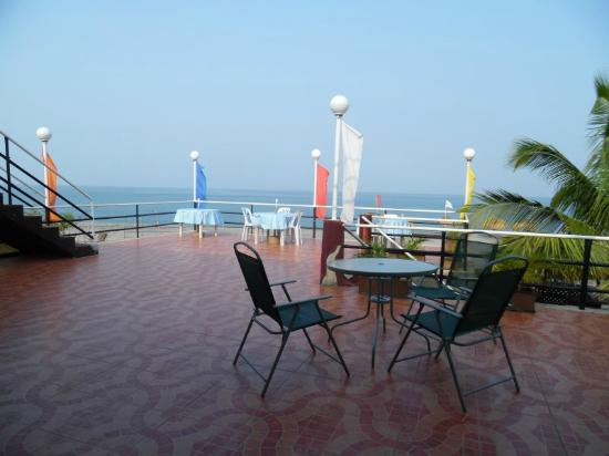 Open dining area under the stars of restaurant Picture of Rama