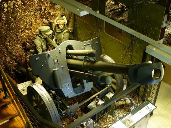 La Roche-en-Ardenne, Belgique : german artillery museum history44