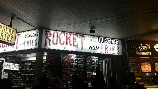 Rocket Burger & Fries