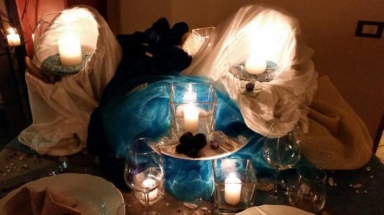 Lo Scrigno dei Sapori: Il nostro meraviglioso tavolo!